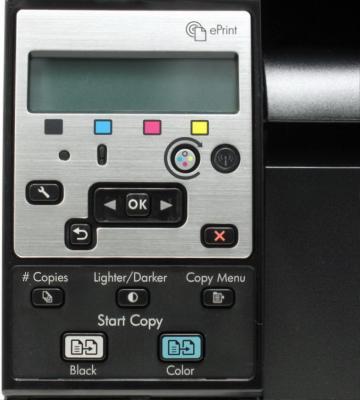 Мфу HP LaserJet Pro 100 MFP 175nw (CE866A) - панель управления