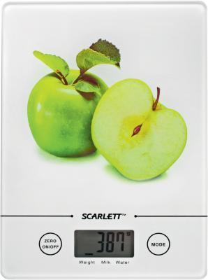 Кухонные весы Scarlett SC-1213 (White-Apple) - общий вид