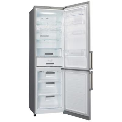 Холодильник с морозильником LG GA-B499BAKZ - вид спереди