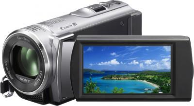 Видеокамера Sony HDR-CX200E Silver - дисплей