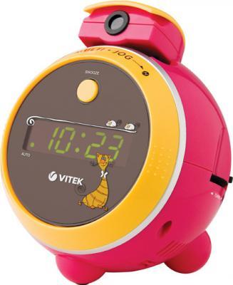 Радиочасы Vitek VT-3510  (Pink) - общий вид