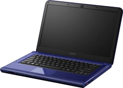 Ноутбук Sony VAIO VPCCA4S1R/L - Вид спереди