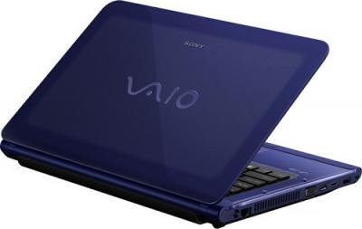 Ноутбук Sony VAIO VPCCA4S1R/L - Вид сзади