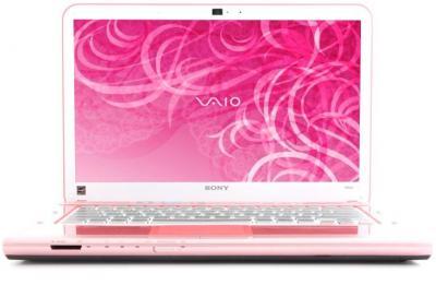 Ноутбук Sony VAIO VPC-CA4S1R/P - спереди