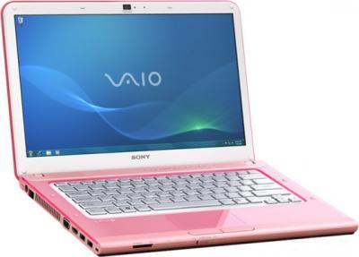 Ноутбук Sony VAIO VPC-CA4S1R/P - открытый