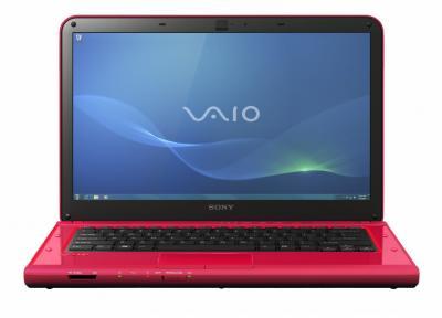 Ноутбук Sony VAIO VPCCA4S1R/R - спереди