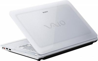 Ноутбук Sony VAIO VPCCA4S1R/W - Вид сзади