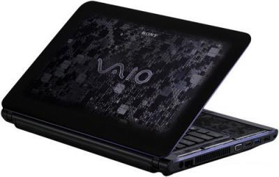 Ноутбук Sony VAIO VPCCA4X1R/BI - Вид сзади