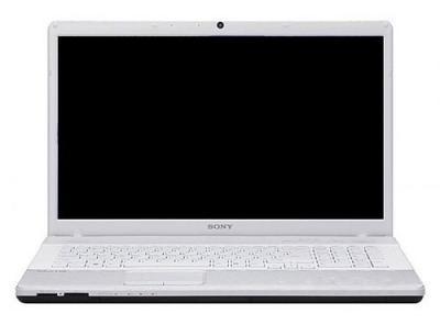 Ноутбук Sony VAIO VPCEH3M1R/W - спереди