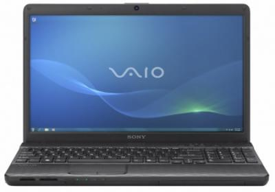 Ноутбук Sony VAIO VPC-EH3M1R/W - спереди