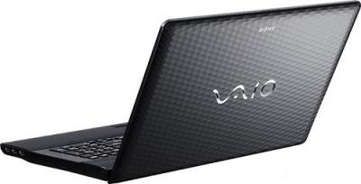 Ноутбук Sony VAIO VPC-EJ3S1R/B - Вид сзади