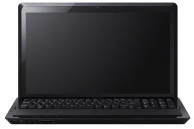 Ноутбук Sony VAIO VPCF24M1R/B - спереди