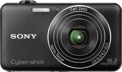 Компактный фотоаппарат Sony Cyber-shot DSC-WX50 Black - общий вид
