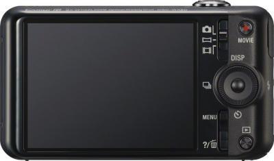 Компактный фотоаппарат Sony Cyber-shot DSC-WX50 Black - вид сзади