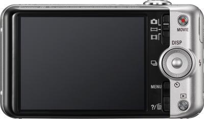 Компактный фотоаппарат Sony Cyber-shot DSC-WX50 Silver - вид сзади