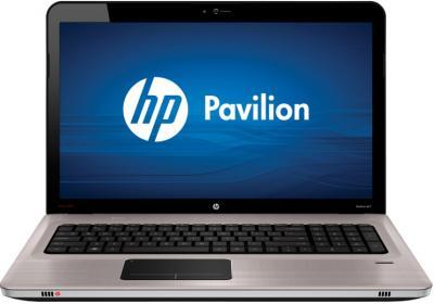 Ноутбук HP Pavilion dv6-6c02er (A8U46EA) - фронтальный вид