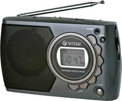 Радиоприемник Vitek VT-3583 Gray - общий вид