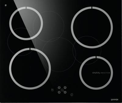 Индукционная варочная панель Gorenje IT 6 SYB - вид спереди
