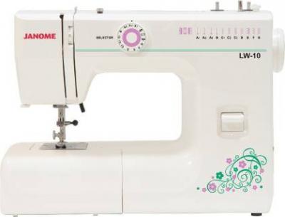 Швейная машина Janome LW-10 - общий вид