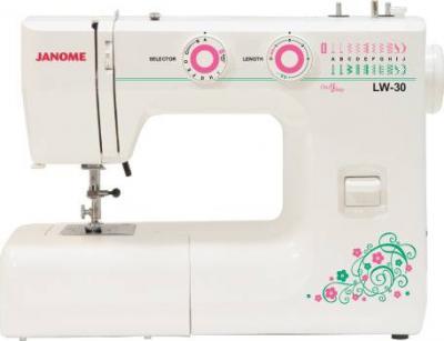 Швейная машина Janome LW-30 - общий вид