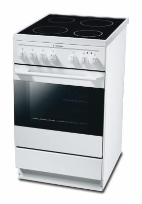 Кухонная плита Electrolux EKC 511502 W - вид спереди
