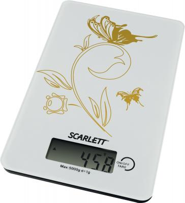 Кухонные весы Scarlett SC-1212 (белый) - общий вид