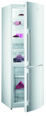 Холодильник с морозильником Gorenje RK65SYW2 - вид спереди