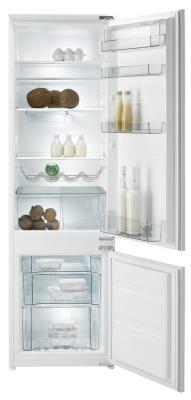 Холодильник с морозильником Gorenje RKI4181AW - вид спереди