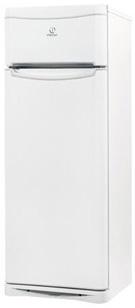 Холодильник с морозильником Indesit NTA16 - Вид спереди