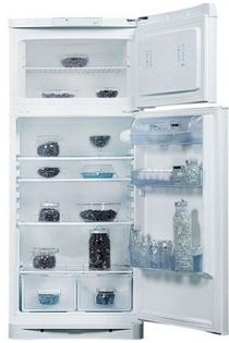 Холодильник с морозильником Indesit NTA16 - Общий вид