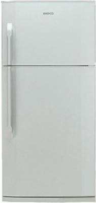 Холодильник с морозильником Beko DN150100 - общий вид
