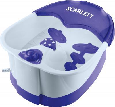 Ванночка для ног Scarlett SC-208 White-Violet - общий вид