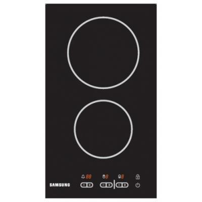 Электрическая варочная панель Samsung CTR432NB02 - вид спереди