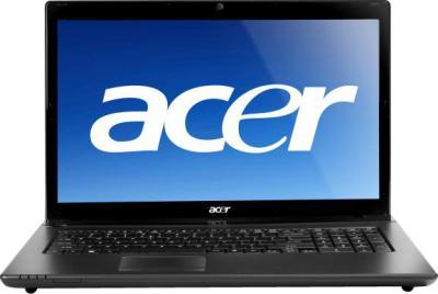 Ноутбук Acer Aspire 7750Z-B964G50Mnkk (LX.RD10C.020) - фронтальный вид