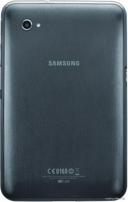 Планшет Samsung Galaxy Tab 7.0 Plus 16GB 3G Metallic Gray (GT-P6200) - вид сзади