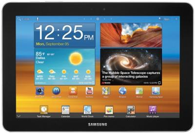 Планшет Samsung Galaxy Tab 8.9 16GB Soft Black (GT-P7310) - Главная