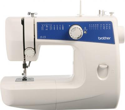 Швейная машина Brother JS-23 - фронтальный вид