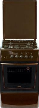 Кухонная плита Nord ПГ4 200-7А (Brown) - вид спереди