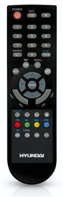 Телевизор Hyundai H-LED19V9A - пульт управления