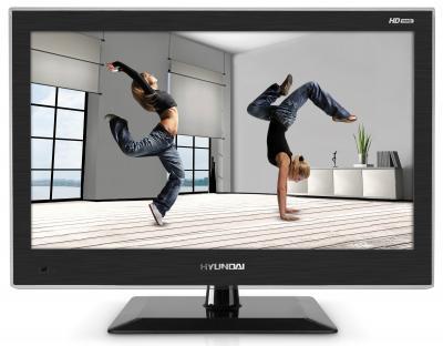 Телевизор Hyundai H-LED19V9A - вид спереди