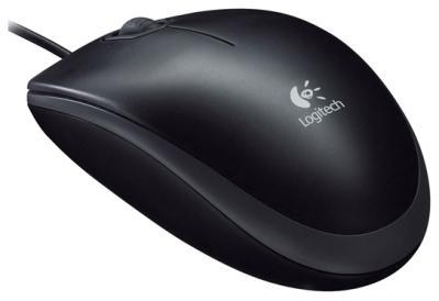 Мышь Logitech B110 Optical Mouse USB (910-001246) - общий вид