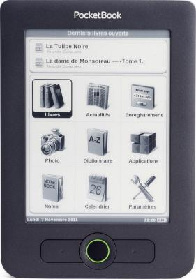 Электронная книга PocketBook Basic 611 Dark Gray - общий вид