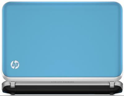 Ноутбук HP Mini 210-4128sr (B1E20EA) - вид сзади