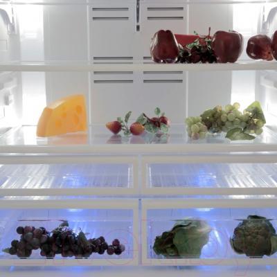 Холодильник с морозильником Beko GNE134620X