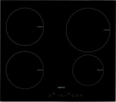 Индукционная варочная панель Beko HII 64400T - вид спереди