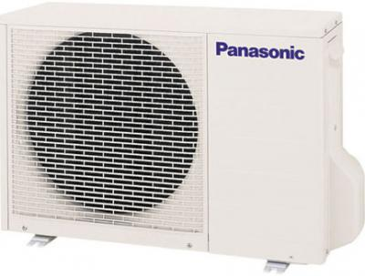 Кондиционер Panasonic CS/CU-YW7MKD - Вид спереди: наружный блок