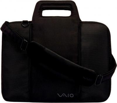 Сумка для ноутбука Sony VGP-EMBT01 Black - вид спереди