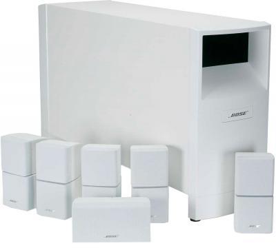 Акустическая система Bose Acoustimass 15 White - общий вид