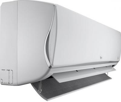 Сплит-система LG CS12AQ - вид сбоку