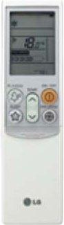 Сплит-система LG CS12AQ - пульт ДУ
